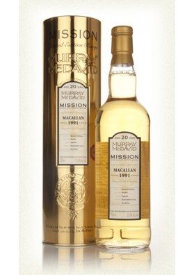 Macallan 20YO 1991 Murray McDavid Mission Gold 52,9% 0,7L Tuba