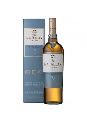 Macallan 15YO Fine Oak Triple Cask Matured 43% 0,7L Karton