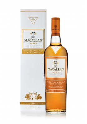 Macallan Amber 1824 Collection 40% 0,7L Karton