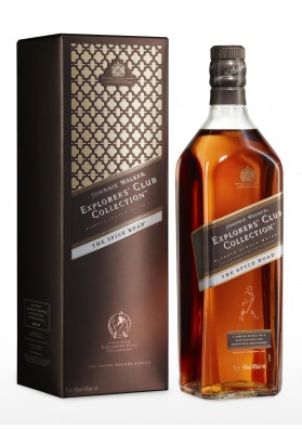 Johnnie Walker Explorers Clab Collection The Spice Route 40% 1L Karton