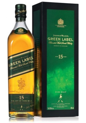 Johnnie Walker Greenn Label 15YO 43% 1L