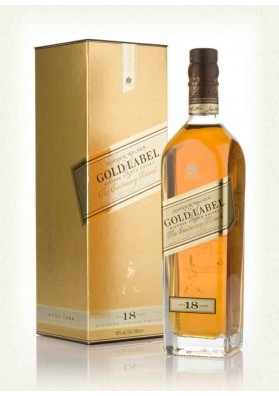 Johnnie Walker Gold 18YO 40% 0,7L Karton