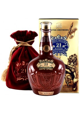 Chivas Royal Salute 21YO Ruby Bordo 40% 0,7L Karton
